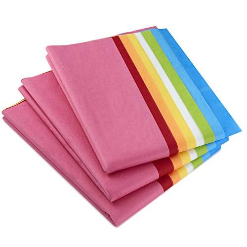 Hallmark Tissue Paper, 120 Sheets (Classic Rainbow, 8 colors) ()