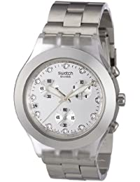 Diaphane Chronograph Blooded Silver Mens Watch SVCK4038G