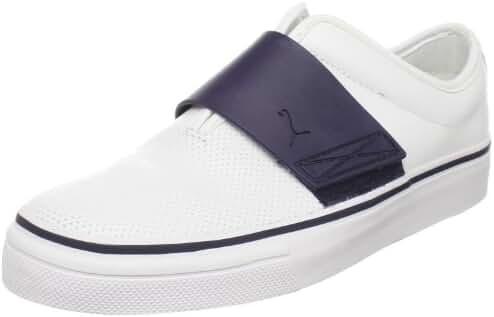 PUMA Men's EL Rey Cross Perf Leather Slip-On Sneaker