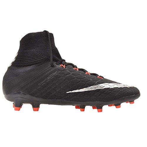 Hypervenom Football FG Black Fit an Mixte de Dynamic black Chaussures Noir 3 Nike Enfant Jr Metallic Phantom Silver qFc5cBC