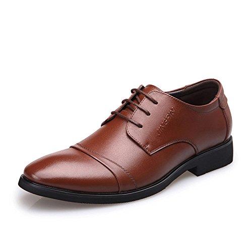 Chaussures Cuir Brown En De Mariage Cérémonie 4pwSnUq4