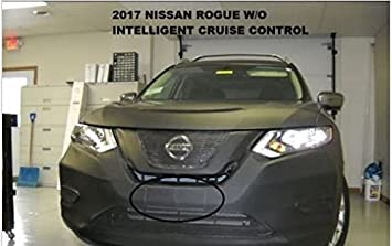 Car Mask Bra Lebra 2 Piece Front End Cover Black Fits Nissan Rogue Sport 2017 2018 2019
