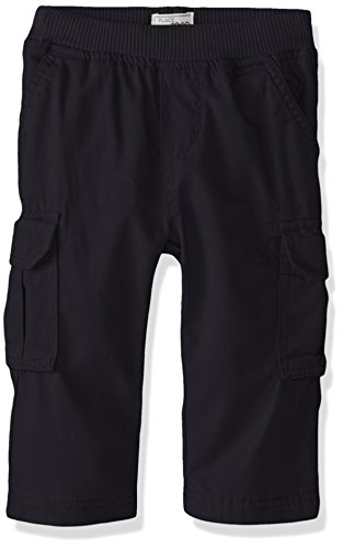 The Children's Place Baby Boys' Toddler Pull On Cargo Pants, New Navy 8355, 2T