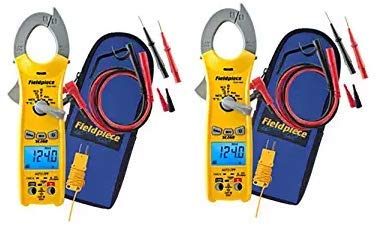 Fieldpiece SC260 Clamp Multimeter With True Rms 3- Pack