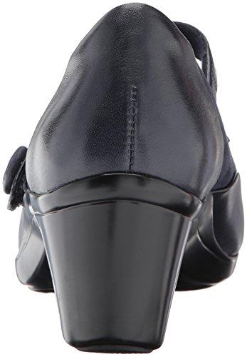 Mary Donne Delle Lexee Aravon Pelle Vestito Pompa Jane Blu Bax048