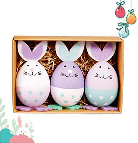 AISION Dancing Easter Bunny Rabbits Eggs (3 Pack) from AISION