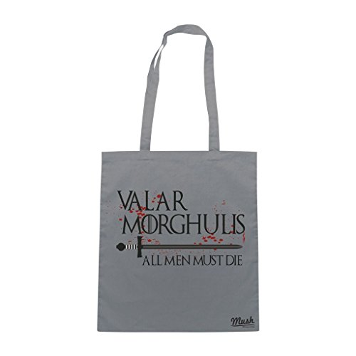 Borsa Valar Morghulis Game Of Thrones - Grigia - Film by Mush Dress Your Style