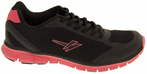 Footwear Studio Women's Slippers Black & Pink iXzal