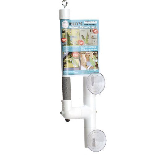 Pollys Deluxe Window Shower Perch product image