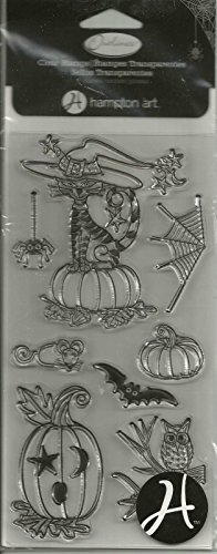 Hampton Art Outlines Clear Stamps Halloween Critters SC0581 #337 -
