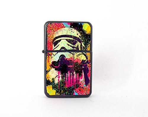 Stormtrooper lighter, pop art lighter, pop art stormtrooper, stormtrooper collectable, Star Wars lighter, groomsman gift, handmade lighter