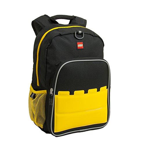 LEGO Kids' Big Brick Heritage Classic Backpack, Black, One Size