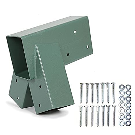 Amazon.com: ECOTRIC Easy Install 1-2-3 Heavy Duty Steel A-Frame ...