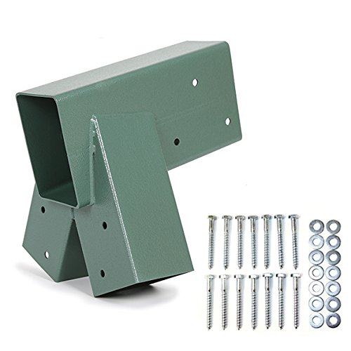 ECOTRIC Easy 1-2-3 Heavy Duty Steel A-Frame Swing Set Bracket (A-frame Brackets)