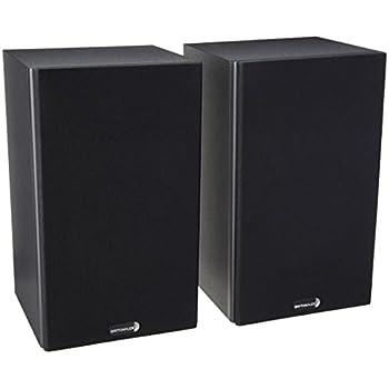 "Dayton Audio B652-AIR 6-1/2"" Bookshelf Speaker Pair with AMT Tweeter"