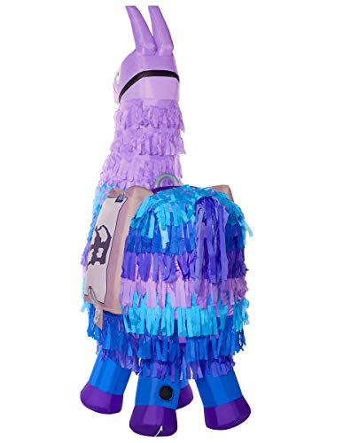 Spirit Halloween Fortnite Loot Llama Inflatable Decoration - 8 Ft | Officially Licensed