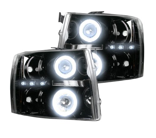 Recon Accessories 264195BKCC Headlight Assembly