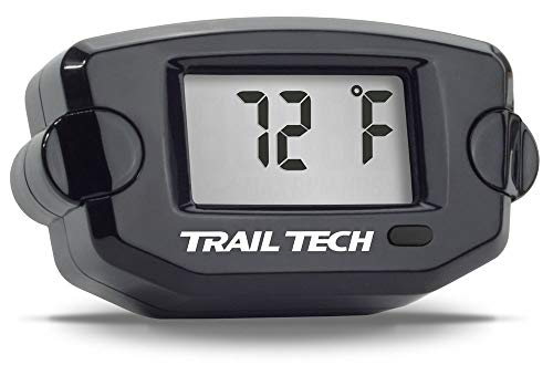 Trail Tech 742-ET3 Black TTO Temperature Digital Gauge 14mm CHT Sensor