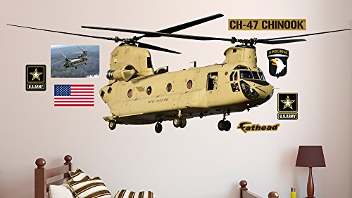 FATHEAD CH-47 Chinook Helicopter Real Decals