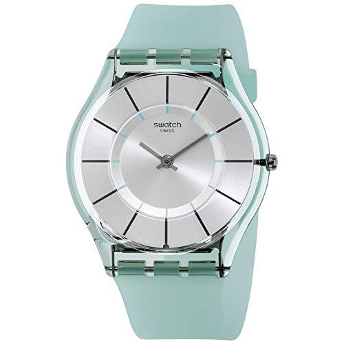 Swatch 1507 Tech-Mode Quartz Silicone Strap, Blue, 16 Casual Watch (Model: SFK397)