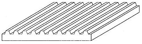 - Evergreen Scale Models Corrugated .080