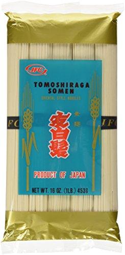 Somen Noodles - JFC Dried Tomoshiraga Somen Noodles, 16-Ounce