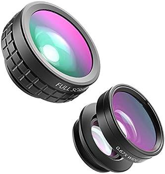 Aukey 3-in-1 Clip-on Camera Lens Kit