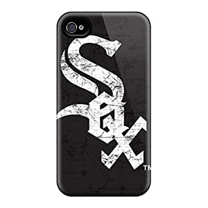Anti-Scratch Hard Phone Cases For iphone 6 4.7 (DTq462GtMe) Allow Personal Design High Resolution Chicago White Sox Series