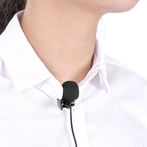 Neewerx9886;x53E3;x9EA6;x514B;x98CE; 3.5mm Hands Free Computer Clip on Mini Lapel Microphone (3X Lapel Microphone) - Image 6