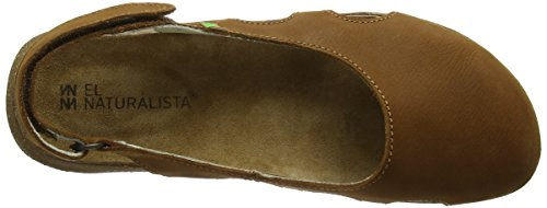 Naturalista Wood Sandali Marrone Donna Toe El Pleasant N413 Closed Wakataua gwFfzqRd7