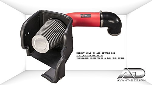 Air Filter intake kit Red 09-17 DODGE RAM 1500 2500 3500 HEMI ST SXT SLT 5.7L 5.7 V8 - Hemi Ram Air