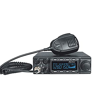 AnyTone AT-6666 10 Meter Amateur Radio for truck, with SSB(PEP)/FM/ AM /PA mode,High Power Output 15W AM,45W FM,60W SSB(PEP): GPS & Navigation