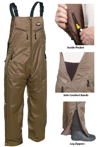 Nite-Lite EXTREME INSULATED BIB SIZE LG 100% Waterproof & Constructed Of Brus... by Nite Lite