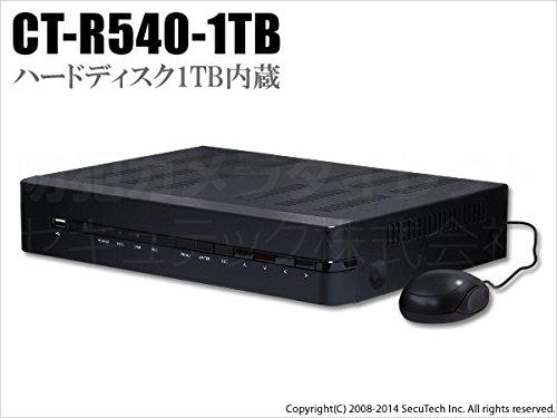 低価格で大人気の 1TB搭載 H.264圧縮ネットワーク 4chデジタルレコーダー 1TB搭載 B00QY4RMCA【CT-R540-1TB】 B00QY4RMCA, BROS:42f65dec --- a0267596.xsph.ru
