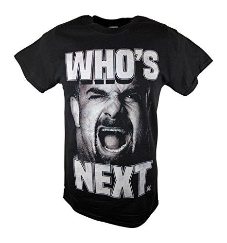Bill Goldberg Who's Next Screaming WWE Mens T-shirt-L by WWE