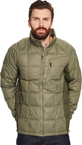 Burton Men's AK BK Down Insulator Jacket, Forest Night/Dusty Olive, Medium