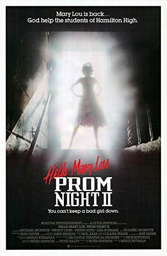 Prom Night 2: Hello Mary Lou - Authentic Original 27x41 Rolled Movie Poster  at Amazon's Entertainment Collectibles Store
