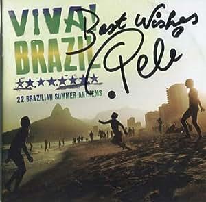 Pele (futbolista) firmado álbum de CD + certificado de autenticación 100% auténtica