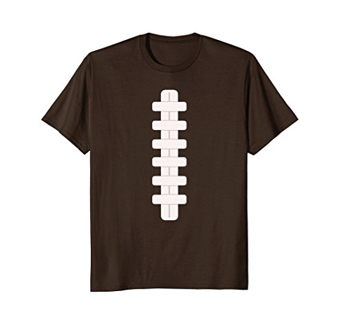 Minute Costumes Last Men (Mens Football Last Minute Halloween Costume Shirt Small)
