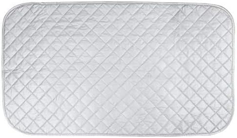 Couverture de Repassage /à Vapeur Pliable et Thermor/ésistant en Coton 60*55cm Asixx Nappe de Repassage Portable