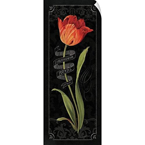CANVAS ON DEMAND Lisa Audit Wall Peel Wall Art Print Entitled Tulipa Botanica II ()