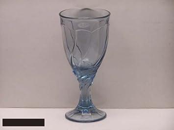 noritake crystal sweet swirl blue 601 water goblets