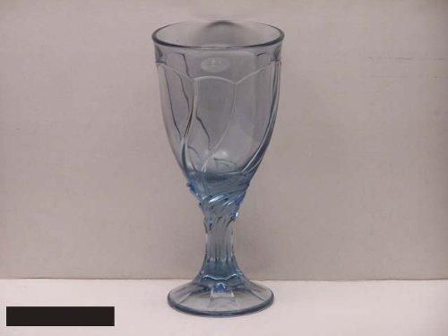 Noritake Crystal Sweet Swirl Blue #601 Water Goblets