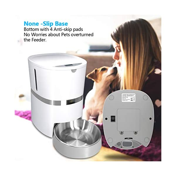 HoneyGuaridan A36 Automatic Pet Feeder, Dog, Cat, Rabbit & Small Animals Food Dispenser with Stainless Steel Pet Food… Click on image for further info. 6