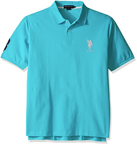Solid Pique Knit Polo - 1