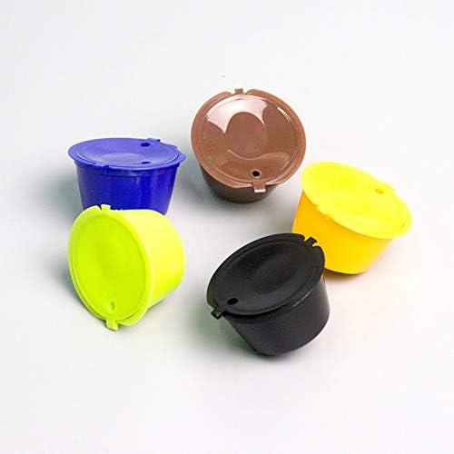 color marr/ón Monbedos C/ápsula de caf/é reutilizable y recargable para c/ápsulas de caf/é Dolce Gusto recargables 1 unidad