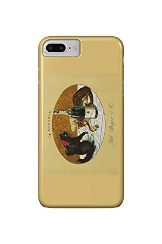 champagne-pol-roger-c-1921-vintage-poster-iphone-7-plus-cell-phone-case-slim-barely-there