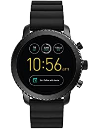 Gen 3 Smartwatch - Q Explorist Black Silicone FTW4005