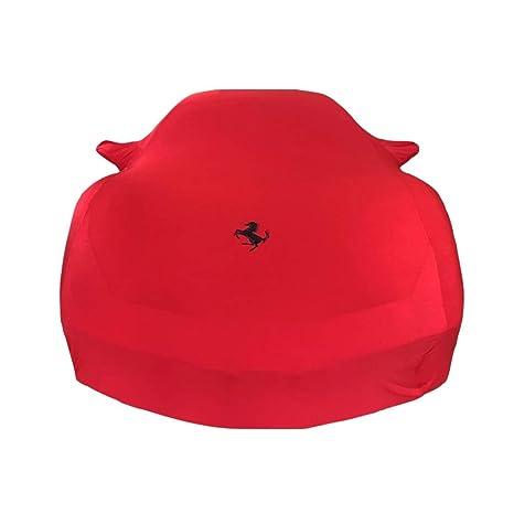 Chezhao colore : Red-Ferrari 458 versione personalizzata copriauto rosso abbigliamento velluto stretch cantina, salone automobilistico, concessionario auto dedicato Per la serie Ferrari