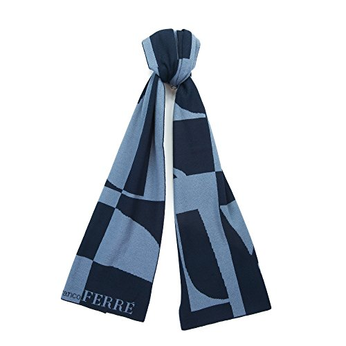 gianfranco-ferre-scr-01950-navy-light-blue-knitted-wool-blend-mens-scarf